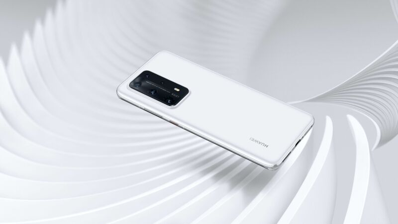 Promotional image of smartphone.
