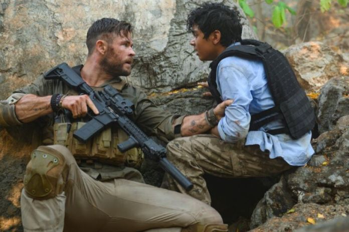 Chris Hemsworth plays a ruthless mercenary whose last mission calls for the challenge of the kidnapped son of a drug lord from Bangladesh.
