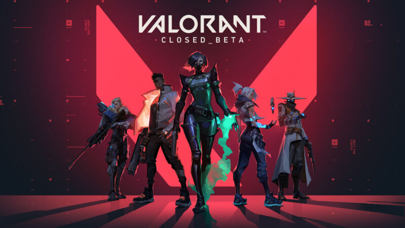 Promotional image for video game Valorant.
