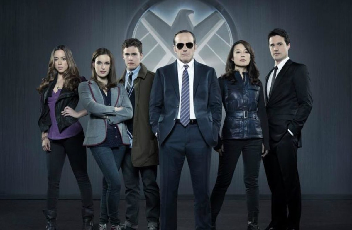 The original team on <em>Agents of S.H.I.E.L.D.</em>