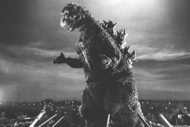 "<em>Godzilla</em> director Ishirō Honda wanted his monster to ""possess the terrifying characteristics of an atomic bomb."""