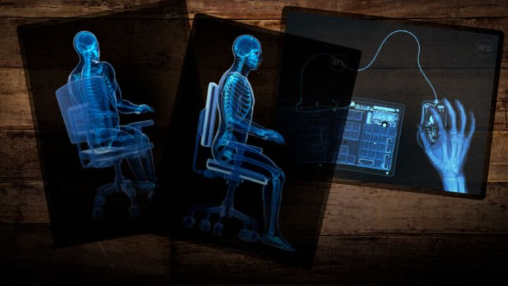 This is your skeleton. This is your skeleton working from home. Any questions?