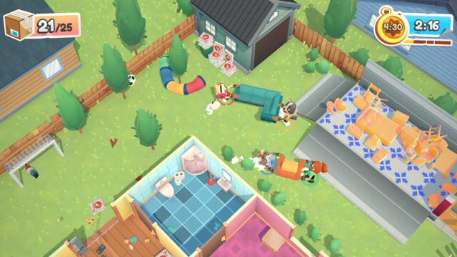 <em>Moving Out</em> is a silly co-op game that's more about destruction than moving.