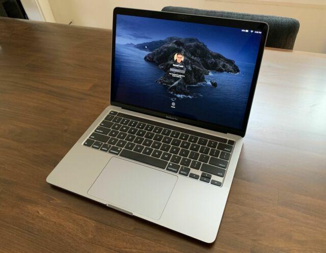 The 2020 13-inch Apple MacBook Pro.