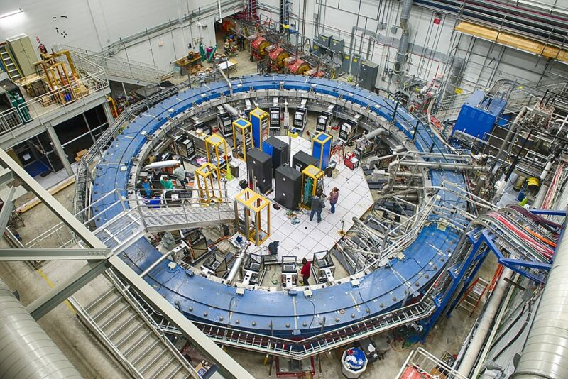 Researchers peek at proprietary data of US particle physics lab Fermilab