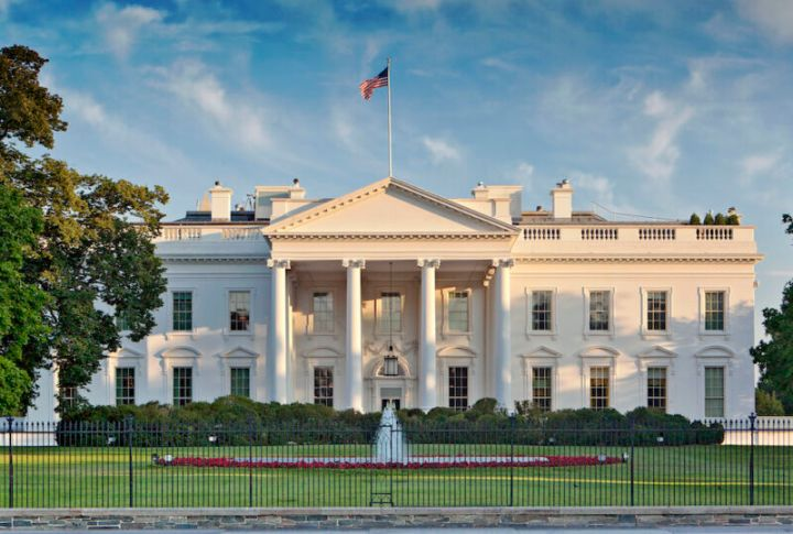 US White House during the day time.