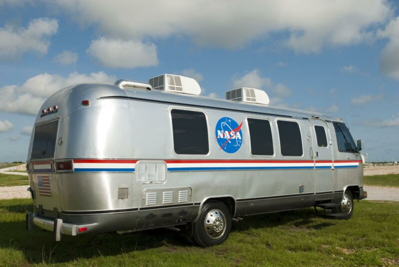 NASA first began using the 1983-model Airstream for space shuttle missions in 1984.