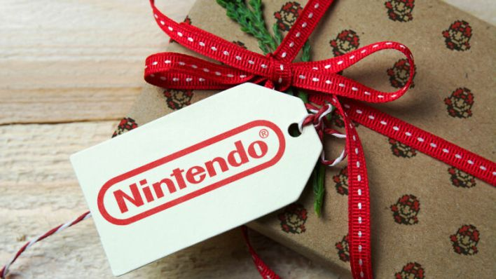 Today's very brief hint of the gaming future comes wrapped in a Nintendo bow.