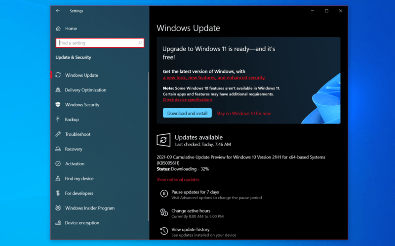 """The """"official"""" Windows 11 update, complete with the UI that regular people will see, is now available in the Release Preview channel for Windows Insiders."""