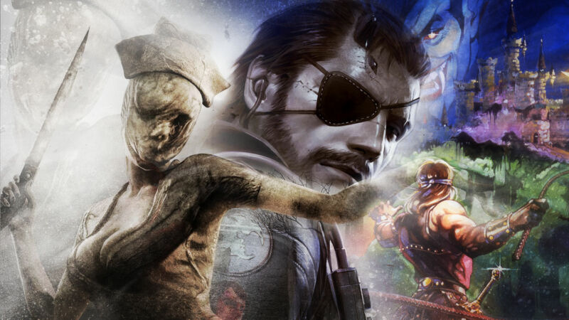 Metal Gear, Silent Hill, and Castlevania could return in 2022, allegedly