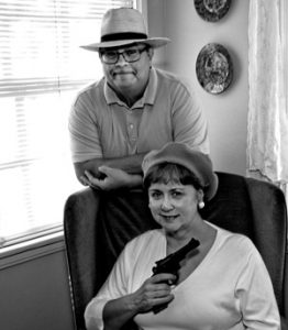 Authors Janet and Will 1950s Partners in Crime