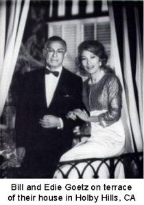 Bill and Edie Goetz 1950s
