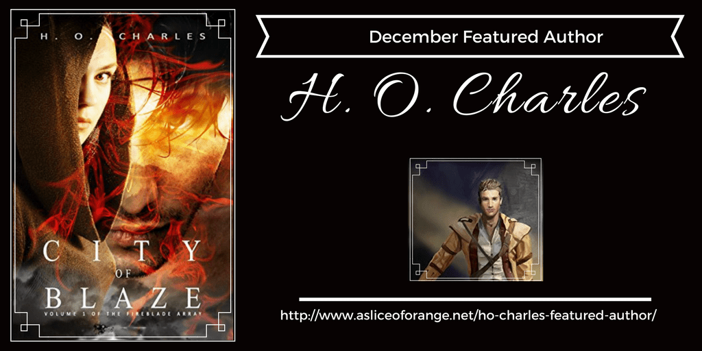 H.O. Charles Featured Author | A Slice of Orange