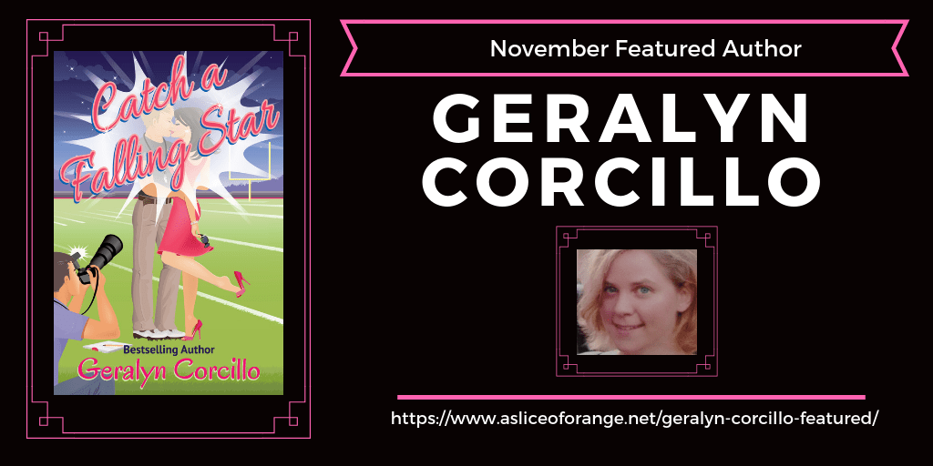 Geralyn Corcillo Featured Author | A Slice of Orange