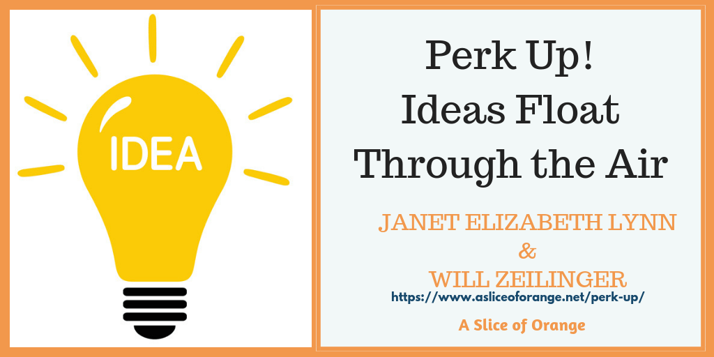 Perk Up | Janet Lynn and Will Zeilinger | A Slice of Orange