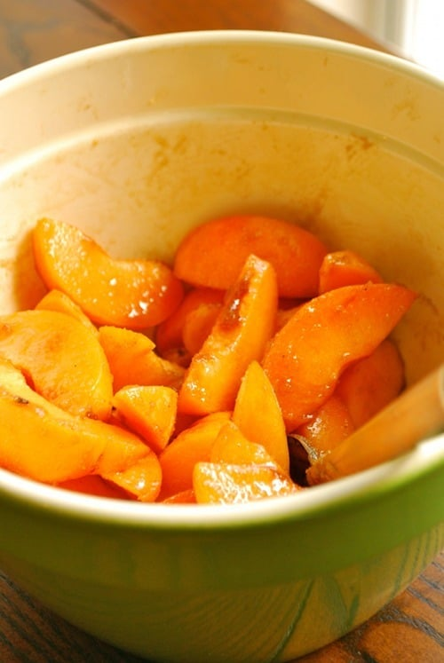 Sauteed Apricots recipe and images by Lacey Baier, a sweet pea chef