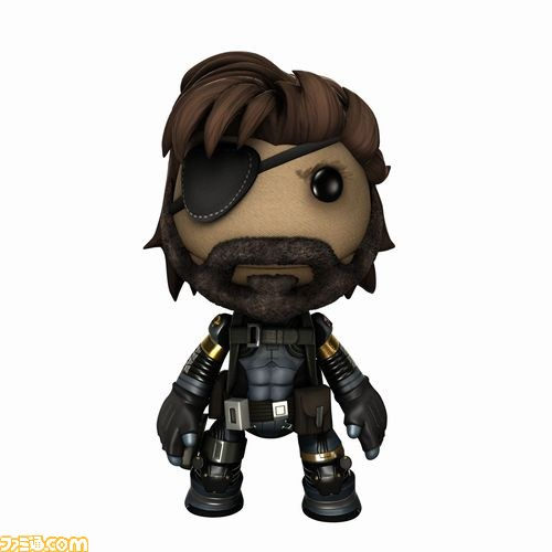 LittleBigPlanet 3 Se Vestir De Metal Gear Solid V The Phantom Pain Atomix