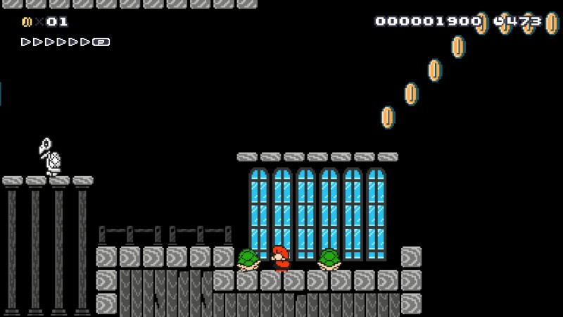 Super Mario Maker Levels Niveles 40 Atomix
