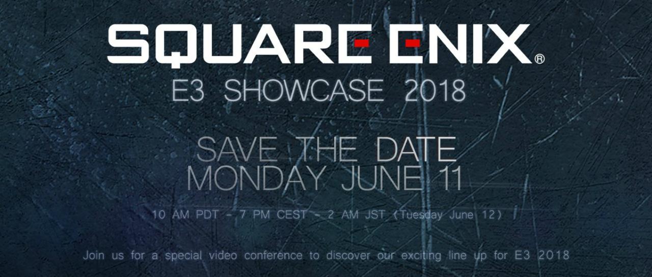Resultado de imagen de e3 2018 square enix