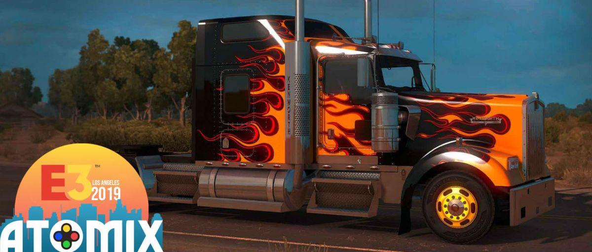 American Truck Simulator E3 2019 Atomix
