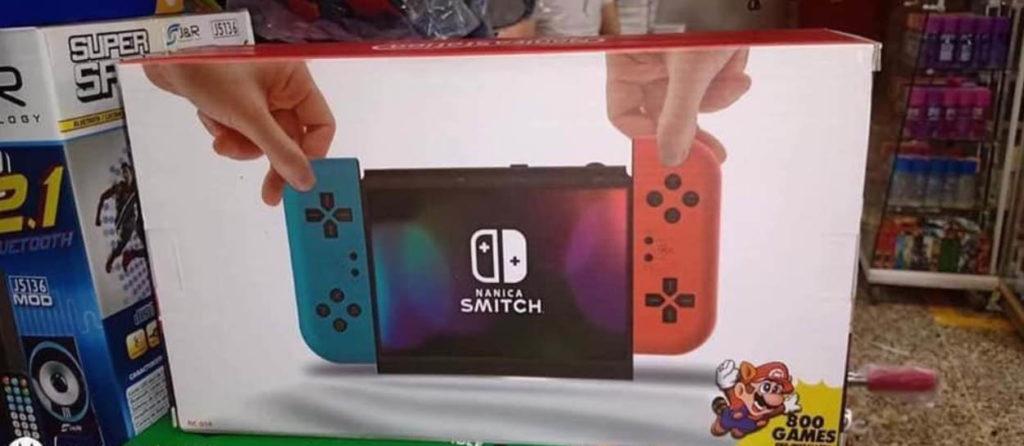 Conoce al Namica Smitch, la copia pirata del Nintendo Switch