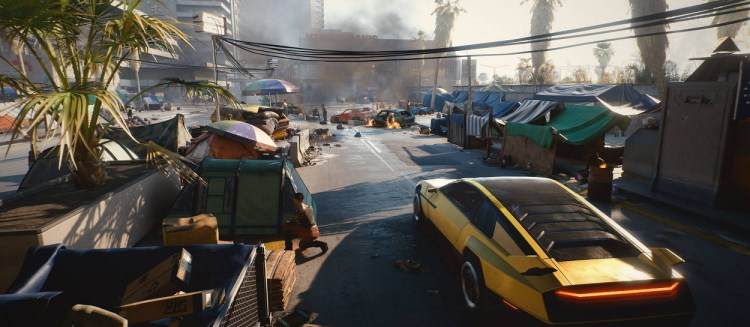 Cyberpunk 2077 on PS4 and Xbox One Has Various Technical Issues