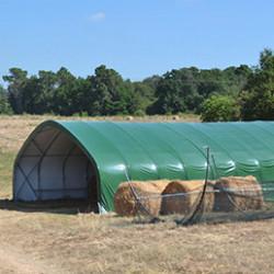 stockage et abris tunnel agricole