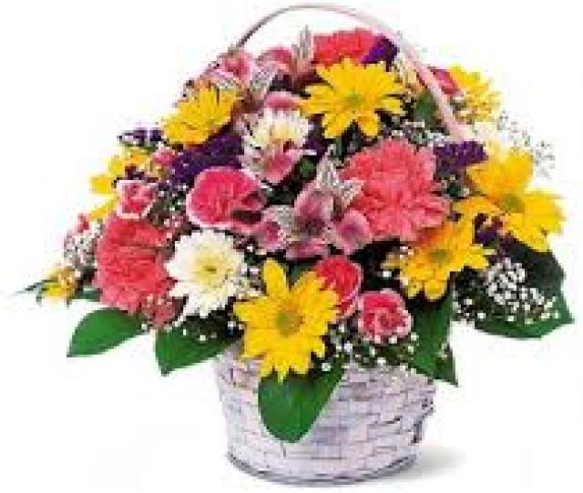 Basket Of Cheer Basket Of Cheery Flowers May Vary In Lebanon Nh