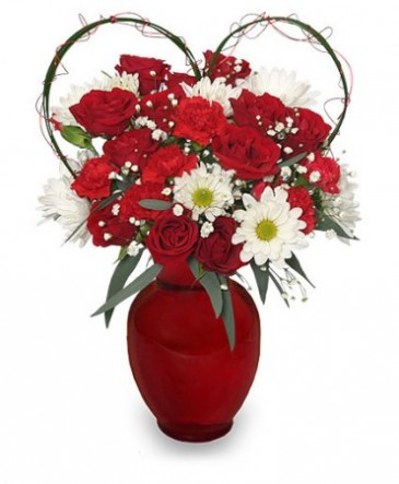Because I Love You Flower Arrangement in Labelle  FL   LABELLE     Because I Love You Flower Arrangement