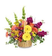 Basket Arrangements Pictures Flower Baskets Flower
