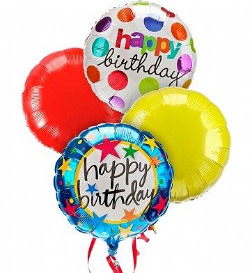 Happy Birthday Mylar Balloon In Texas City Tx Bradshaw S Florist Inc