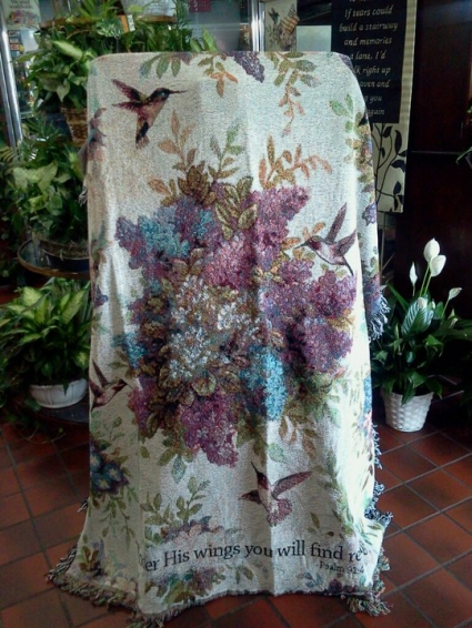 WHISPER WINGS Sympathy Throw In Lima OH MOHLERS