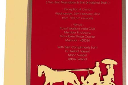 imágenes de indian wedding invitation card making