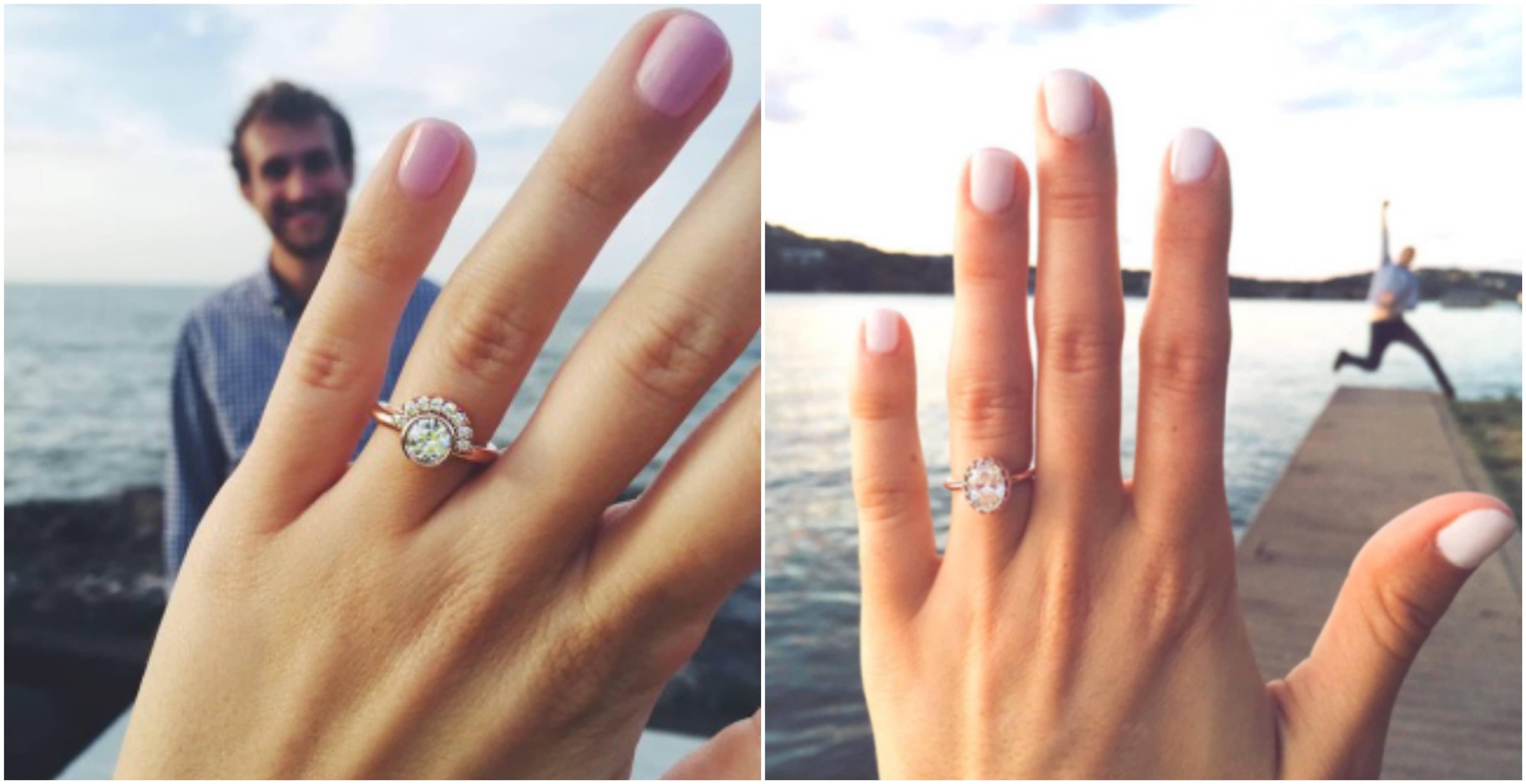 10 Stunning Engagement Ring Selfie Ideas With Bonus Tips
