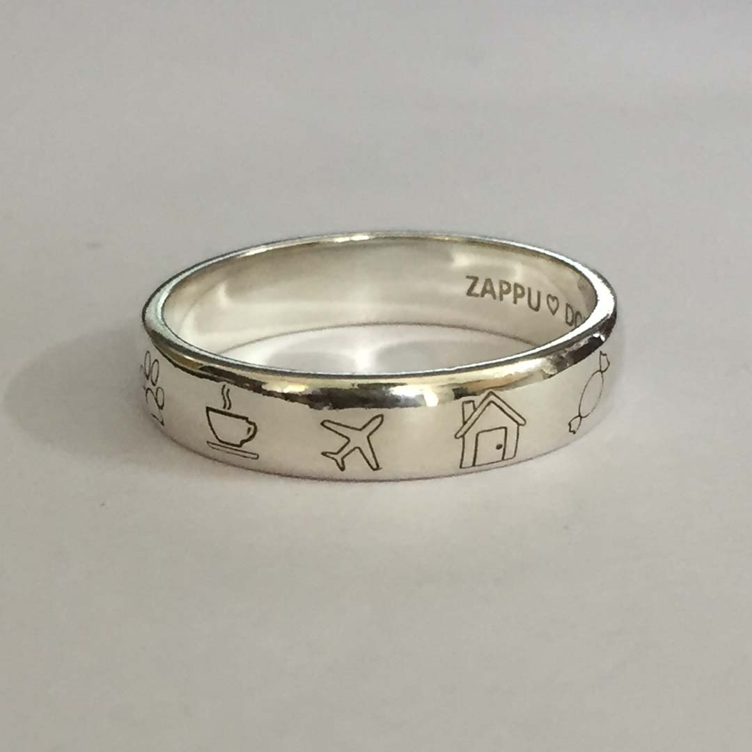 Buy Pure Sterling Silver Rings With Customization Online Personalized Silver Rings