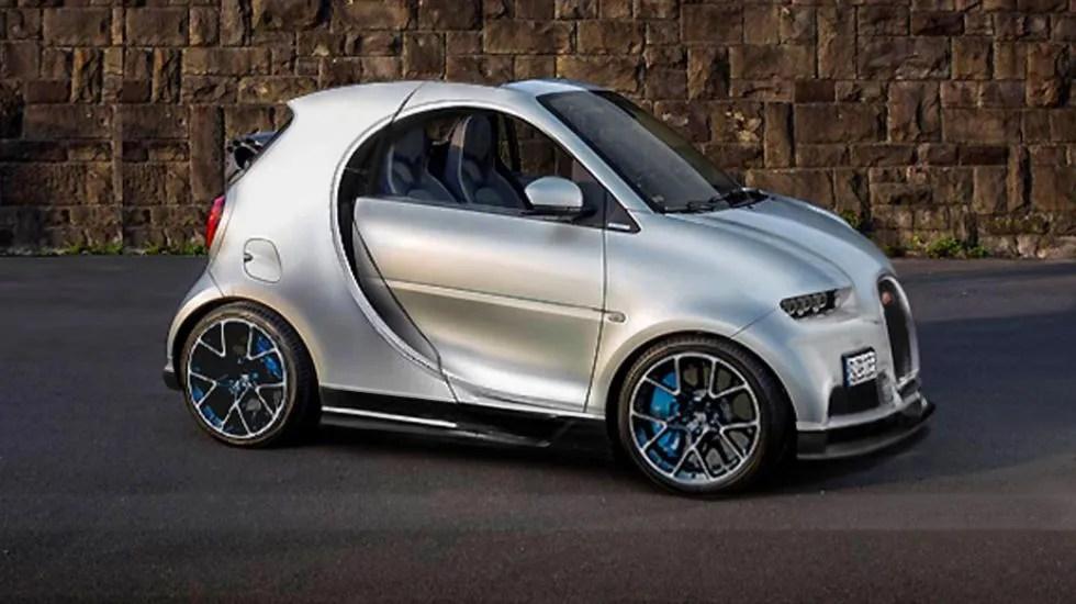 Si Mezclas Un Bugatti Y Un Smart Obtienes Esto Autobildes