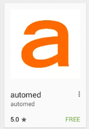 automed google play application icon