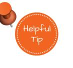 Helpful Tip