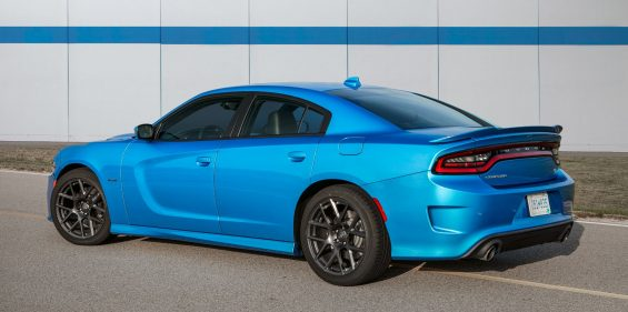 Dodge Charger RT Light Blue Rear