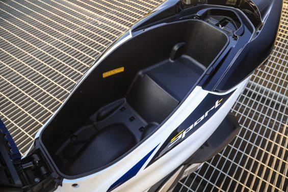 honda pcx 150 sport abs bau under seat