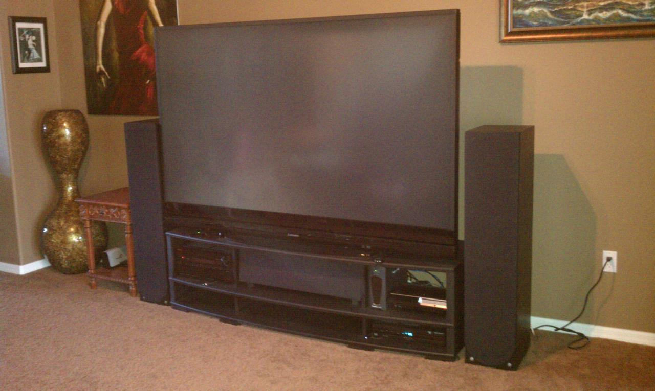 Tv Stand For My Mitsubishi 82 738 DLP TV AVS Forum