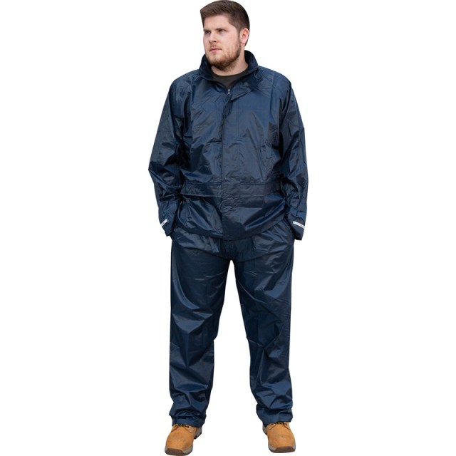 Navy Waterproof Jacket X Large