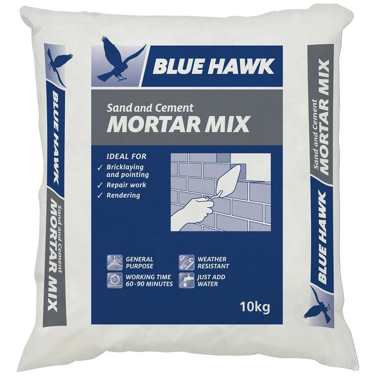 blue hawk mortar mix 10kg
