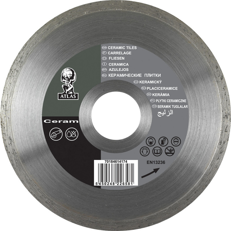 norton tile ceramic cutting diamond blade 115 x 22 2mm