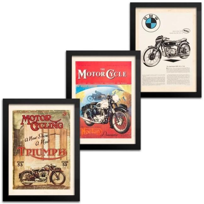 Kit Quadros Moto