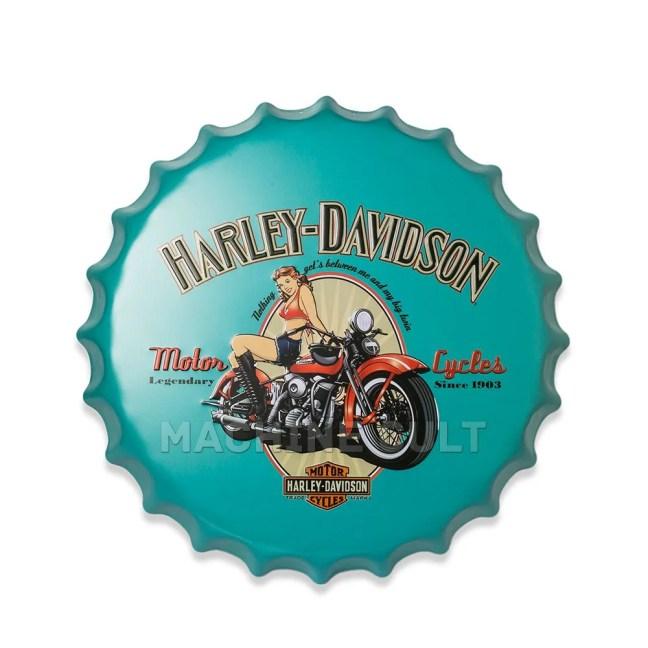 placa Harley-Davidson