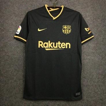 Camisa Barcelona 2020-21 (Away-Uniforme 2) - Modelo Torcedor - ACERVO DAS CAMISAS