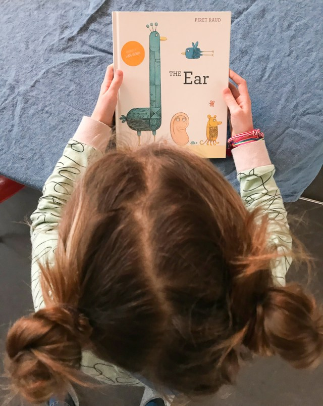 the ear' by piret raud. a book about the importance of