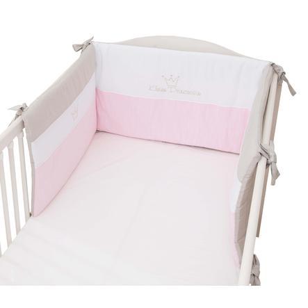 tour de lit enfant petite princesse rose 1