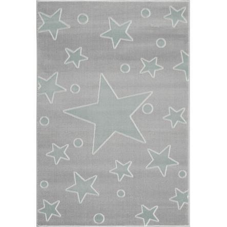 x 150 cm gris argente livone tapis
